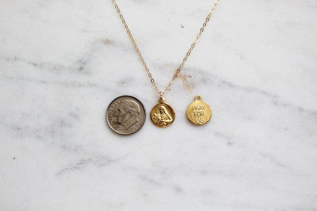 Little Saint Therese necklace