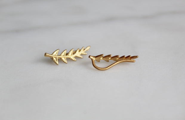 Olive branch Ear cuff climber