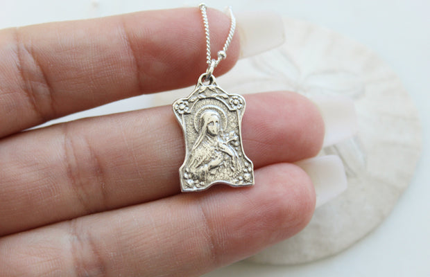 St. Therese of Lisieux (Sterling Silver)
