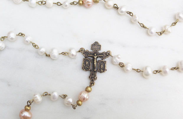 Pearl Rosary #15
