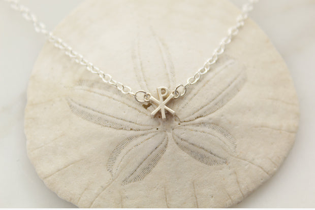 Chi Rho necklace (Sterling Silver)