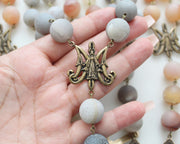 Sorrowful Mysterious Rosary (ready to ship 10/26