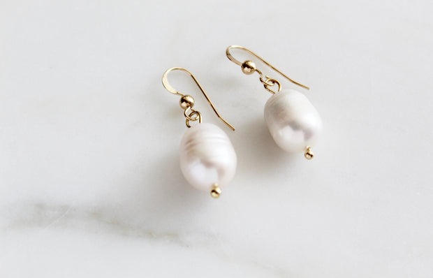Giannas Pearl earrings