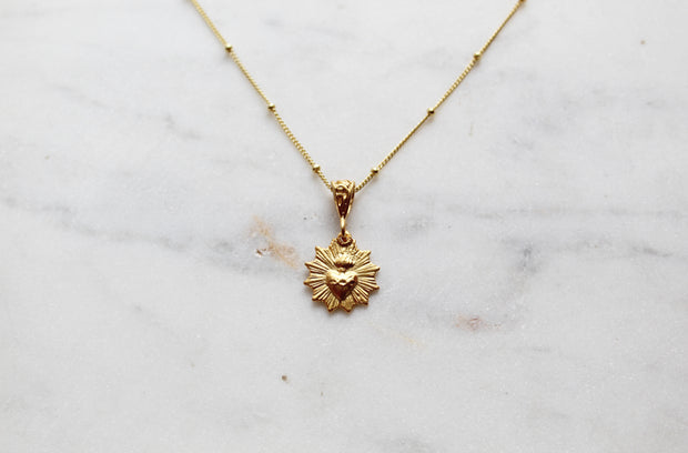 Sacred Heart Scalloped