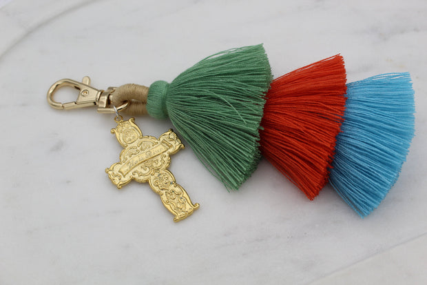 He is Risen Purse Tassel