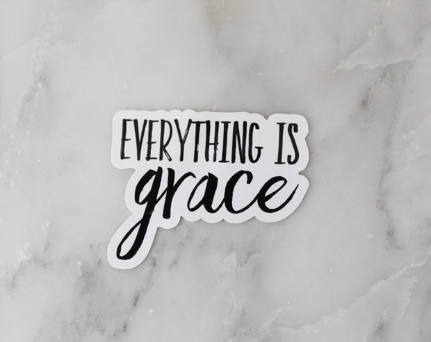 Everything is Grace -Static Cling