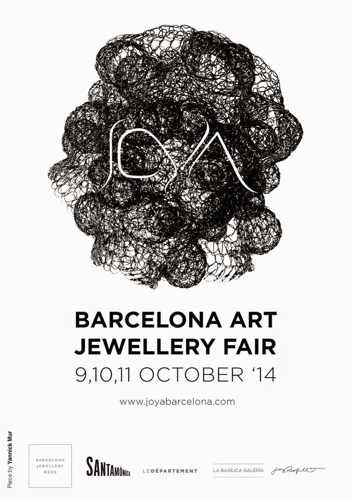 Gustav in Barcelona: LA JOYA BARCELONA ART JEWELLERY FAIR, 10/9/14 - 10/11/14