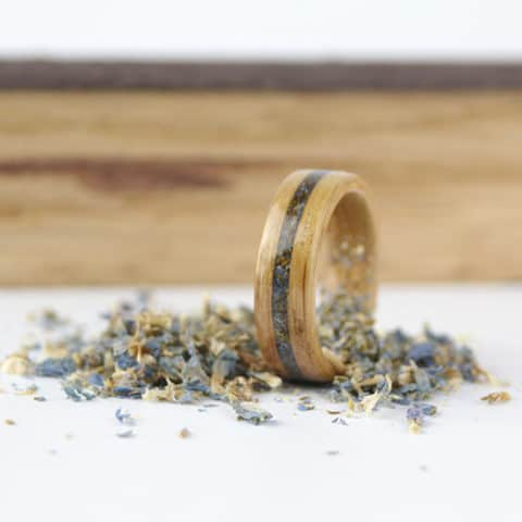 Can I provide my own wood for a custom wood ring?