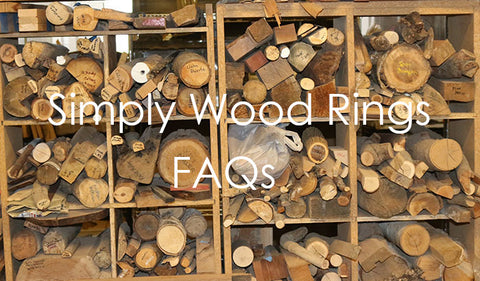 Simply Wood Rings FAQs