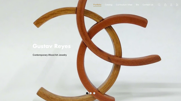 Gustav Reyes New Website Design 2020