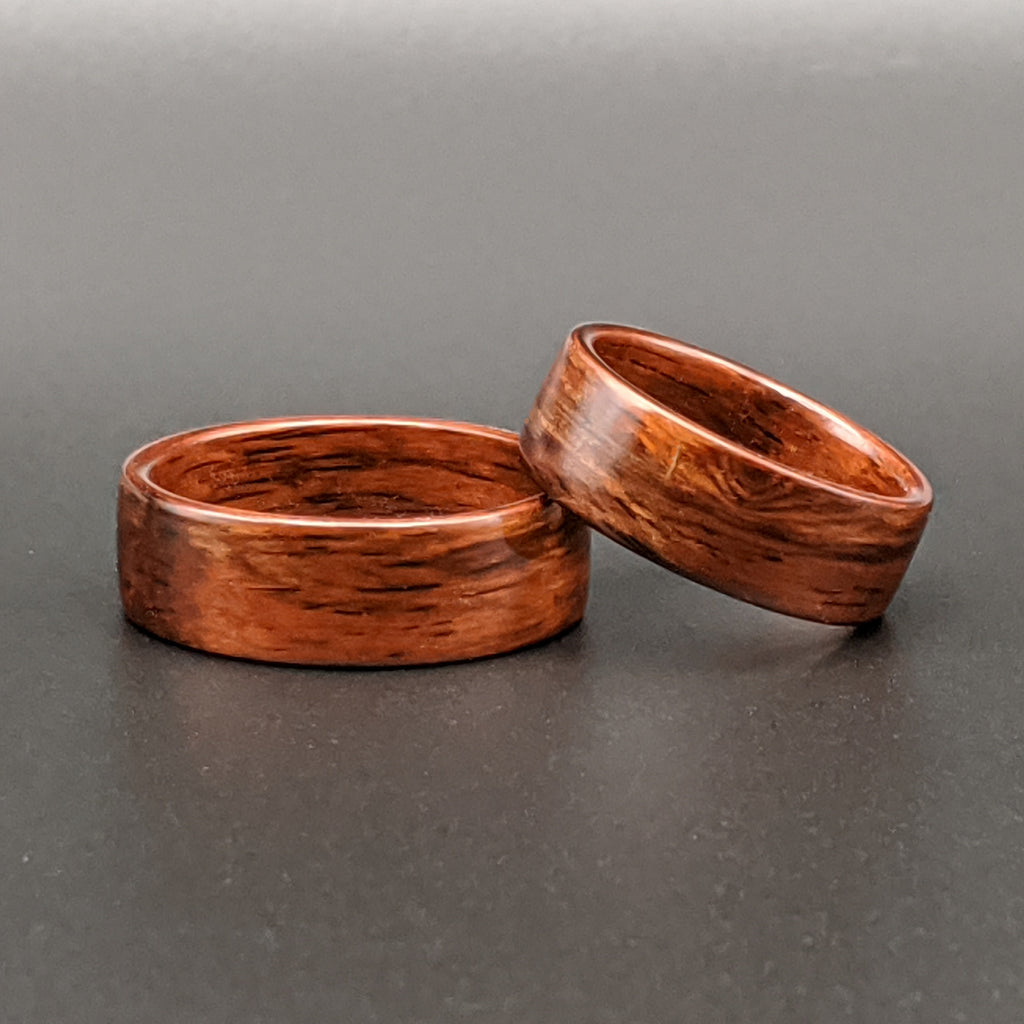 """Salvage Rosewood Ring Set"""