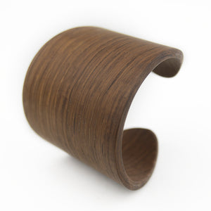 Oval Cuff - Walnut