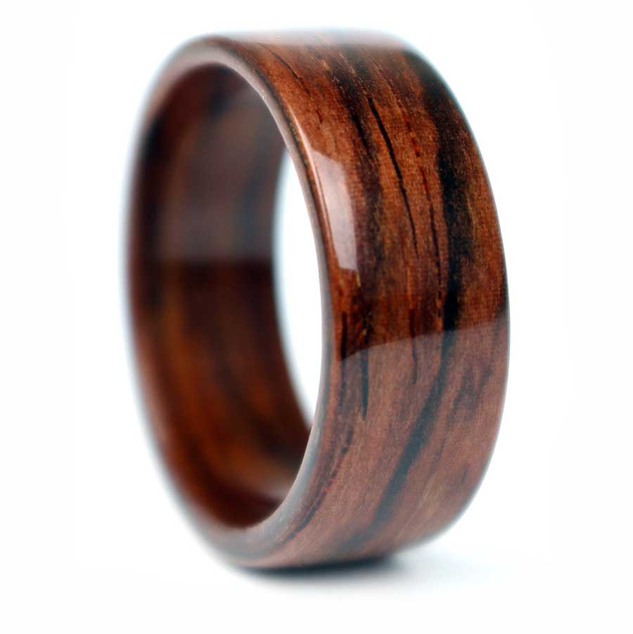 Salvaged Rosewood Ring