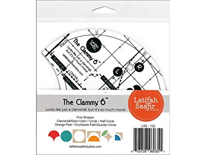 "6"" Clammy by Latifah Saafir"