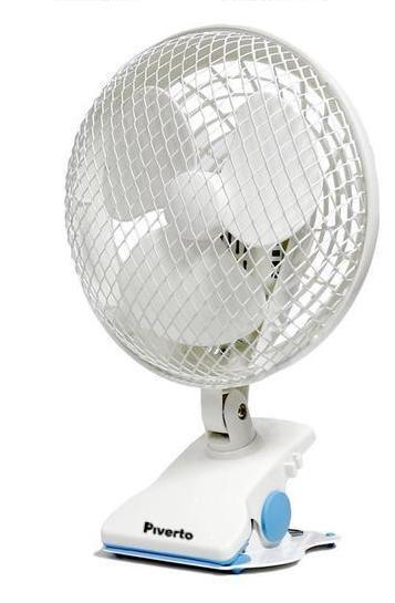6'' Clip-on fan - Piverto