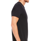 Black Short Sleeve T-shirt - Piverto