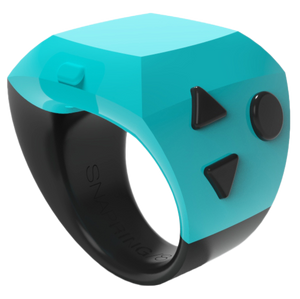 Snapring, Bluetooth Camera Shutter Remote Control, Snap Ring, Snap-ring, iPhone camera controller, Wearable camera controller, Ring Camera, Camera controller ring, Decorative iPhone controller, blue snapring, Social media controller, Intstagram remote, Phone app controller