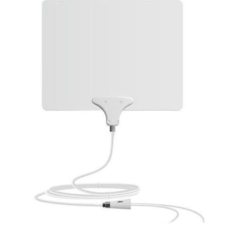 Mohu - Leaf 50 Amplified Indoor HDTV Antenna - Black/White - Yame Tools