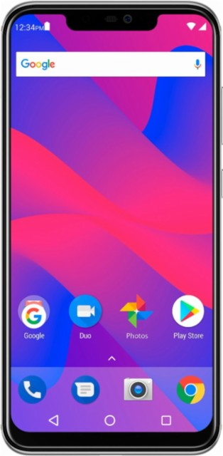 BLU - Vivo XI+ with 64GB Memory Cell Phone (Unlocked) - Silver