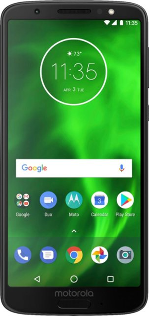Motorola - Moto G6 with 64GB Memory Cell Phone (Unlocked) - Black