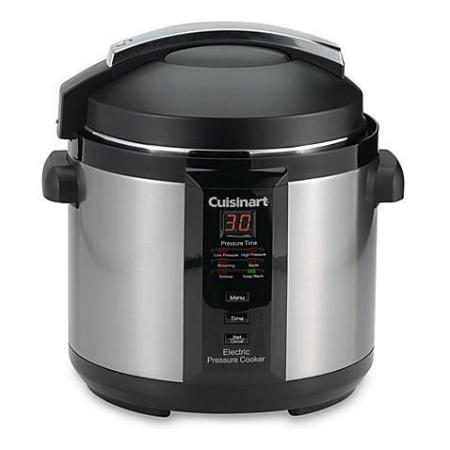 Cuisinart CPC-600 Pressure Cooker - 1000W - 6 qt - Brushed Stainless Steel - Yame Tools