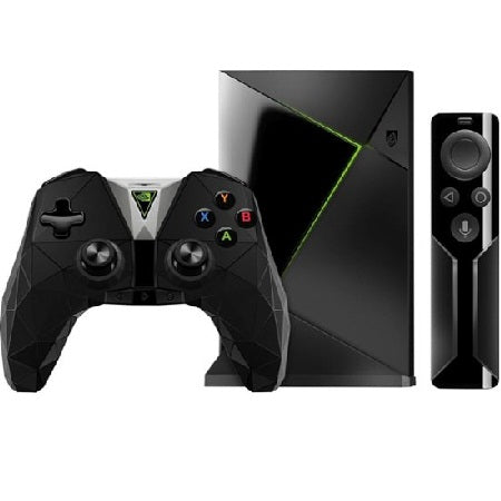 NVIDIA - SHIELD TV Gaming Edition - 4K HDR Streaming Media Player with Google Assistant - Black