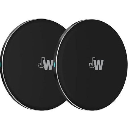 Just Wireless - 5W Qi Certified Wireless Charging Pad - Black