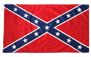Confederate Rebel Flag 3ft by 5ft --- FREE SHIPPING