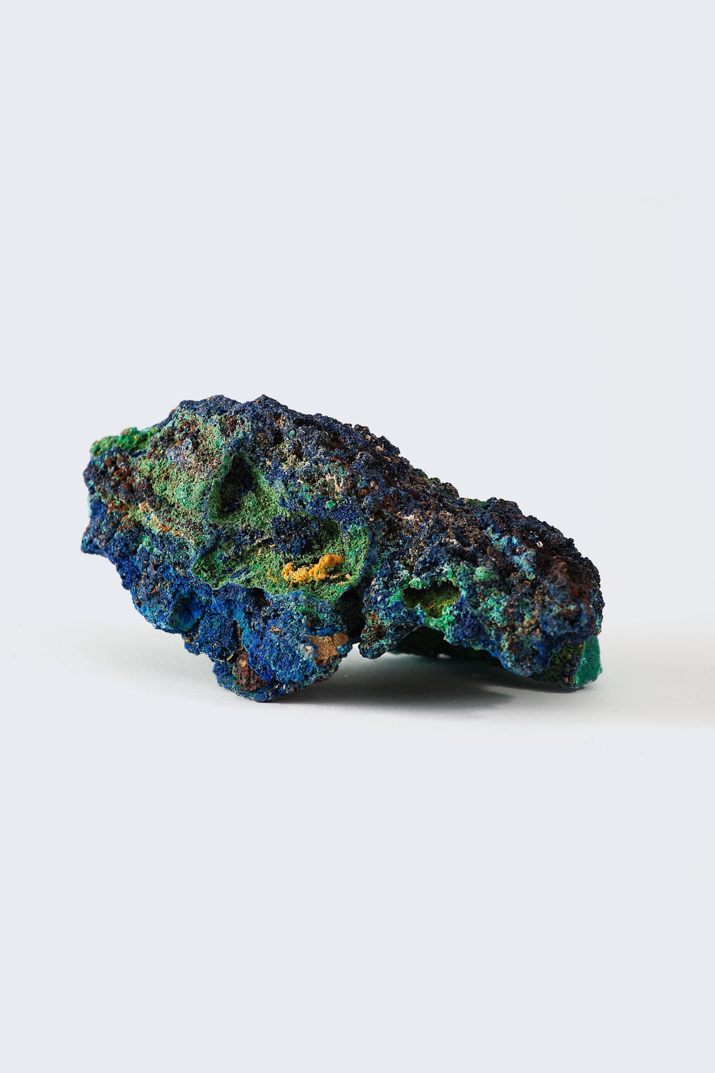 Malachite with Azurite - Mazz Hanna