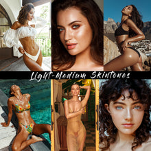 Load image into Gallery viewer, NEW: Light-Medium Skintones Lightroom Presets DESKTOP