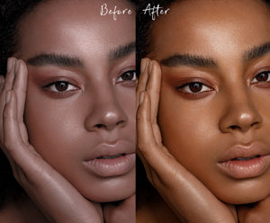NEW: Medium-Dark Skintones Lightroom Presets MOBILE