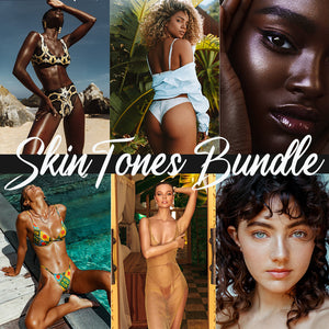 Light + Dark Skintones Preset Bundle Desktop