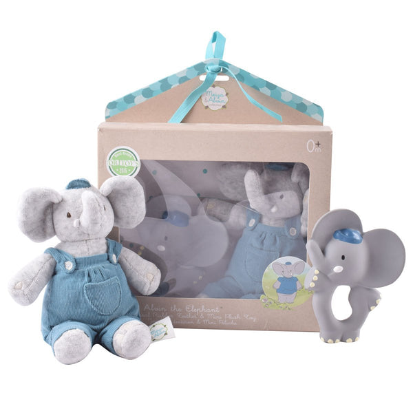 Teether Alvin With Soft Head Alvin Gift Set