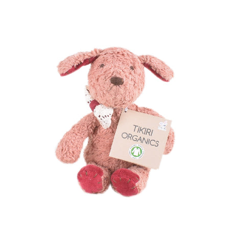 Tikiri 100% Organic Cotton Soft Toy Puppy