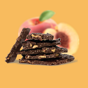Beanbark Peach (100g) - Remix Snacks