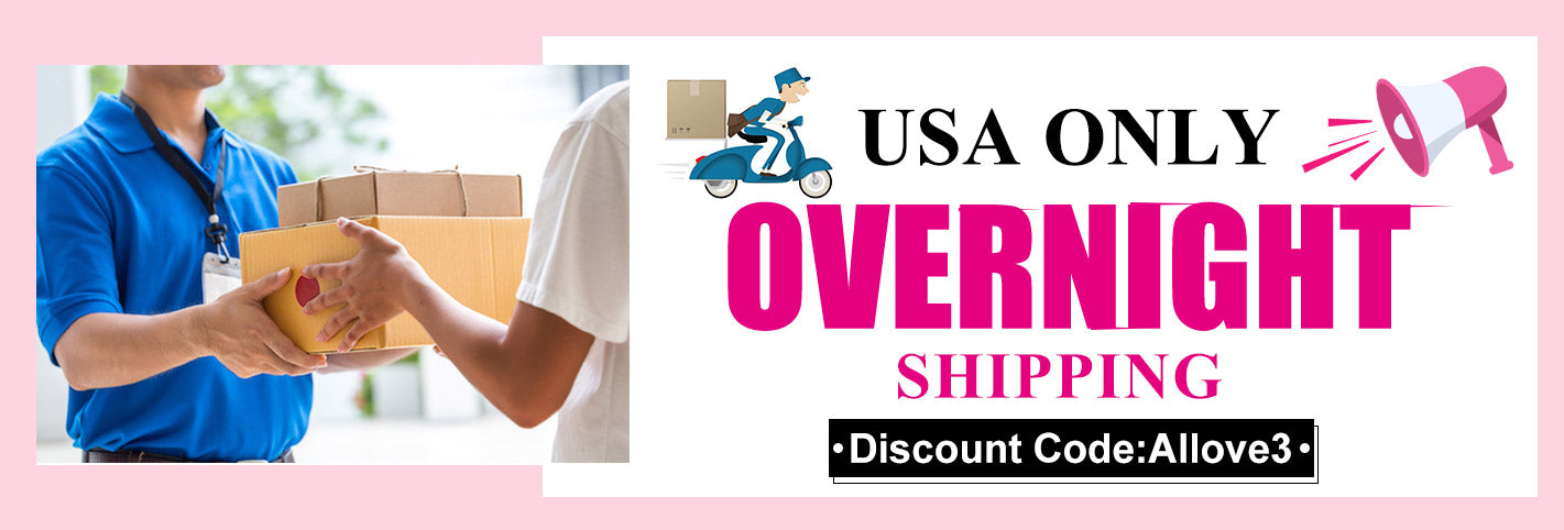Overnight Shipping 1or 2 days arrive USA