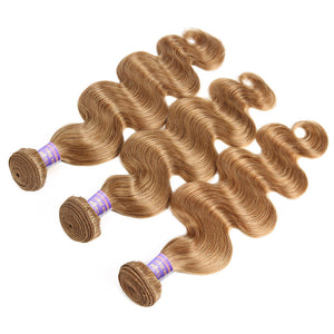 Allove Hair New Arrival Color 27# Body Wave Human Hair 3 Bundle Deals : ALLOVEHAIR