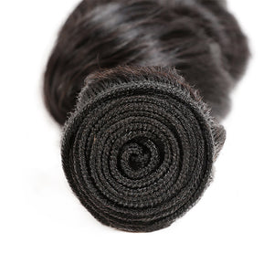 Allove Hair Indian Loose Wave Virgin Human Hair Weave 4 Bundles : ALLOVEHAIR