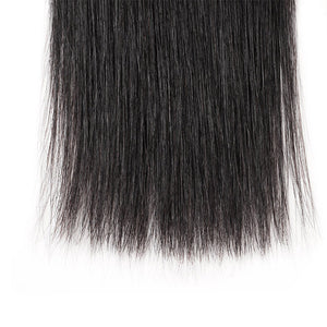 Allove Hair Peruvian 4 Bundles Straight Human Hair Extensions : ALLOVEHAIR