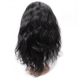 Allove Hair Virgin Brazilian Body Wave 2 Bundles with 1 pc 360 Lace Frontal Closure : ALLOVEHAIR