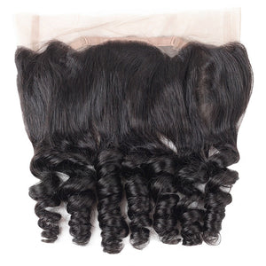 Allove Hair Loose Wave Virgin Human Hair 360 Lace Frontal Closure : ALLOVEHAIR