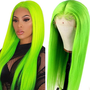 Allove Colored Straight Lace Front Wigs 150% Density 13*4 Lace Front Wigs : ALLOVEHAIR