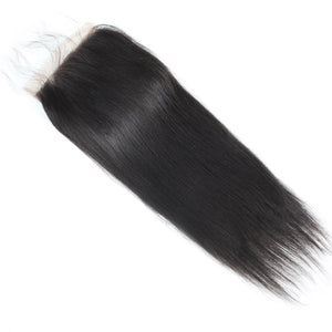 Straight Hair 6*6 Lace Closure Virgin Remy Hair Allove Hair : ALLOVEHAIR