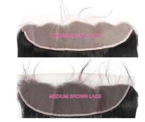 Allove Hair 13*4 Transparent Swiss Body Wave Lace Frontal Ear to Ear Closure : ALLOVEHAIR