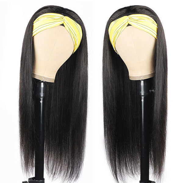 Shipping From USA Warehouse Straight Hair Headband Wig. Time&Stock limited, Don't Miss It