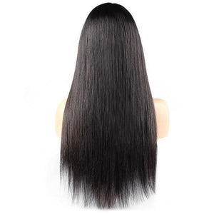 Allove Straight Hair 4*4 Lace Closure Wig 150% Density Human Hair Wigs