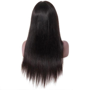 Straight Hair 13*4 Lace Front Wig 10A Grade Virgin Remy Human Hair Wigs