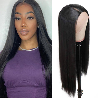 New Arrival Straight Hair T-Part Lace Front Wig
