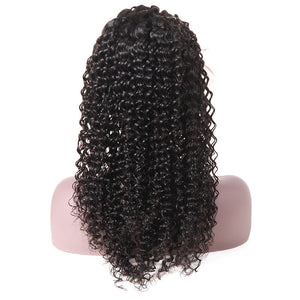 Curly Hair 13*4 Lace Front Wig 100% Virgin Remy Human Hair Wigs Allove Hair : ALLOVEHAIR
