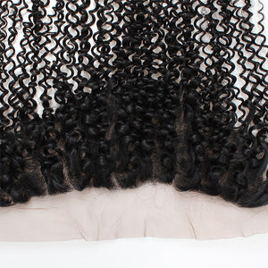 Allove Hair Wholesale 10 Bundles Kinky Curly 13*4 Lace Frontal Closure Human Hair : ALLOVEHAIR